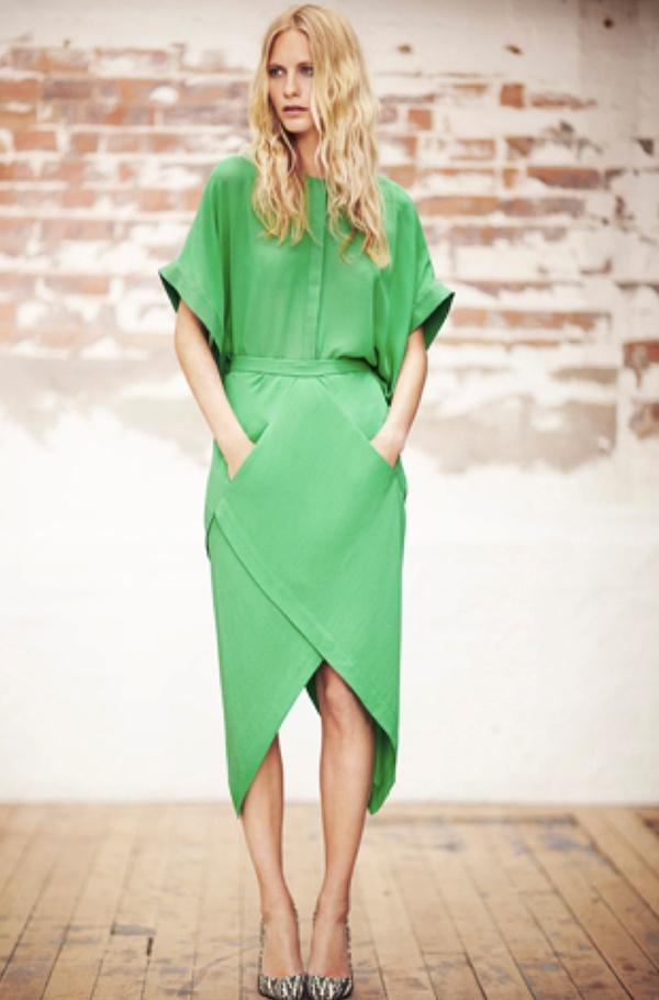 Monochromatic :Green