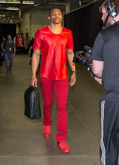 Russell Westbrook Collaborates With Barneys FASHION SIZZLE