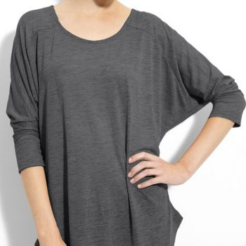Alternative-Mélange-Burnout-Dolman-Sleeve-Tee