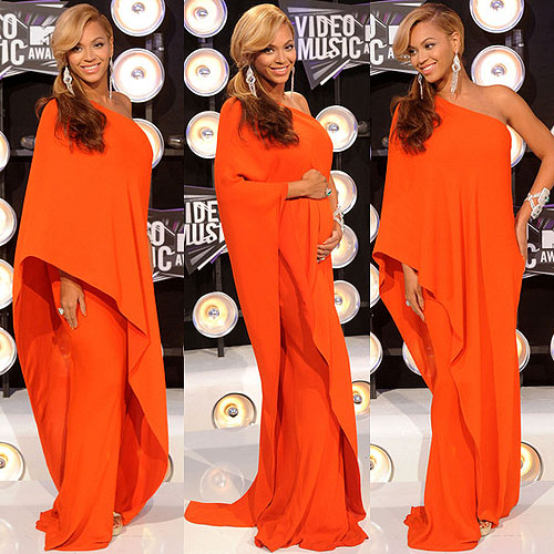 Beyonce at the 2011 MTV Video Music Awards Different Types Of Sleeves