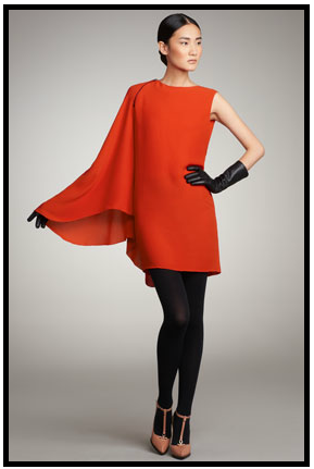 Lanvin Cape Sleeve Dress Different Types Of Sleeves