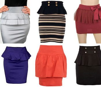 PEPLUM-SKIRTS