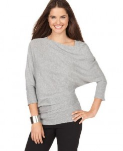 Studio M Top Asymmetrical Neckline Dolman Sleeve 245x300 Different Types Of Sleeves