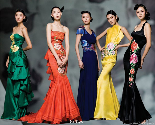 fashion china Different types of silhouettes