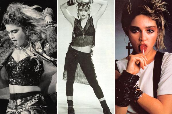 Madonna fashion icon fashion sizzle