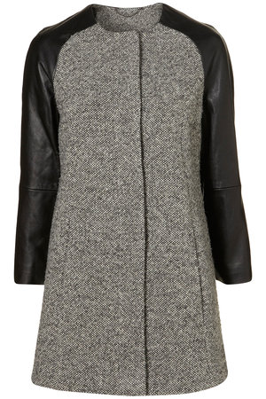 topshop premium leather raglan sleeve profile Different Types Of Sleeves