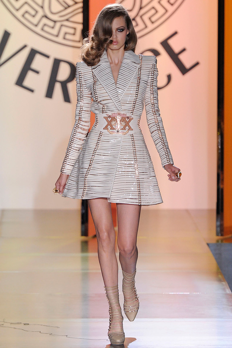 Versace Fall 2012 Couture Fashion Sizzle
