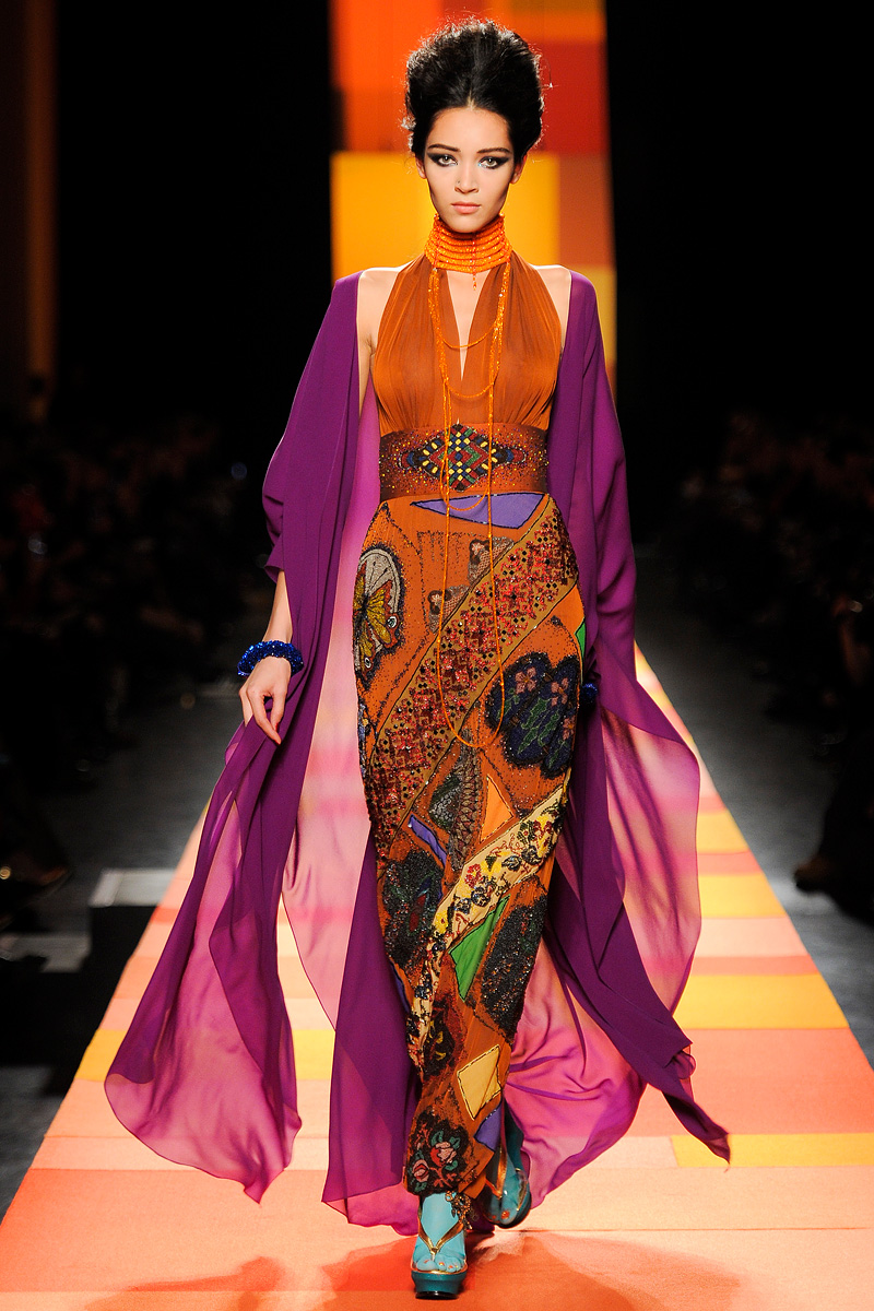 Jean paul gaultier spring 2013 couture fashionsizzle for Jean paul gaultier clothing