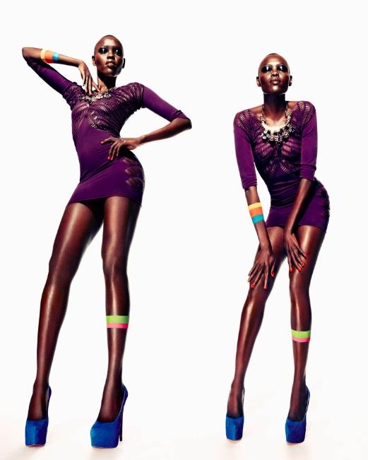11 Black Models