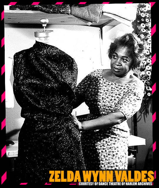 34381 zelda wynn valdes dance theatre of harlem archives Zelda Wynn Valdes first black  Fashion designer and costumer to open her own shop