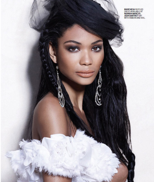 Chanel Iman Bal Harbour5 Black Models