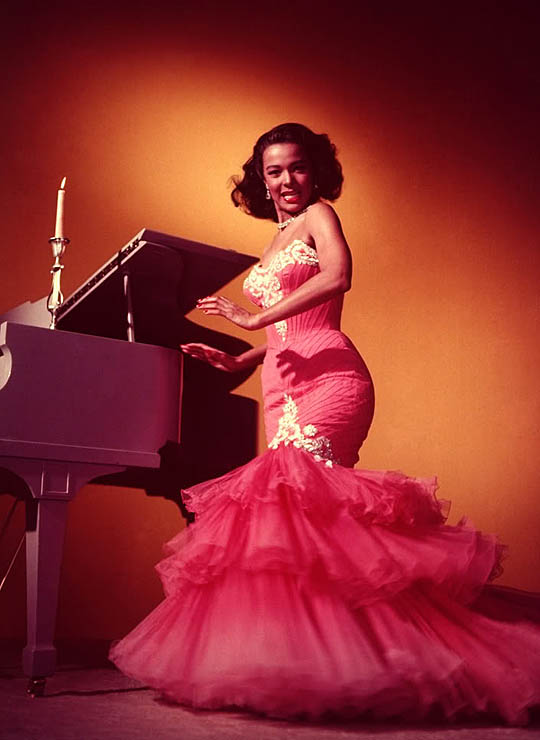 dorothy dandridge latin dance red 3 Zelda Wynn Valdes first black  Fashion designer and costumer to open her own shop