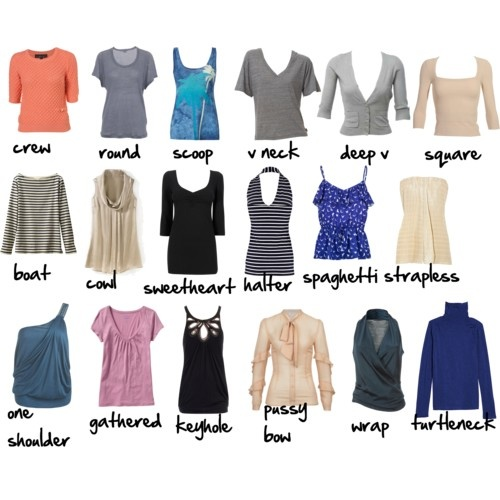 types-of-necklines