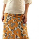 a line%2520skirt%2520yellow%2520print1 150x150 Different types of silhouettes