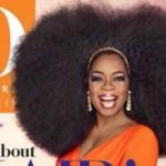 Oprah Big Afro