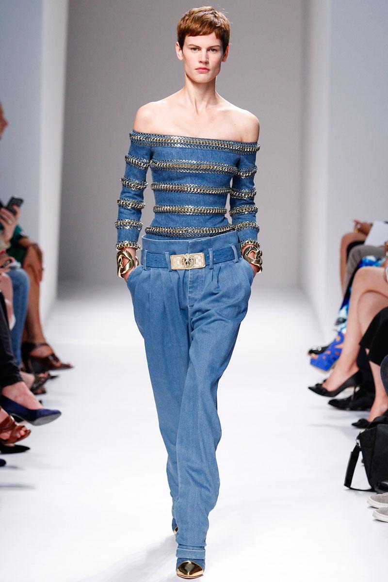Balmain Spring 2014 Rtw Fashionsizzle
