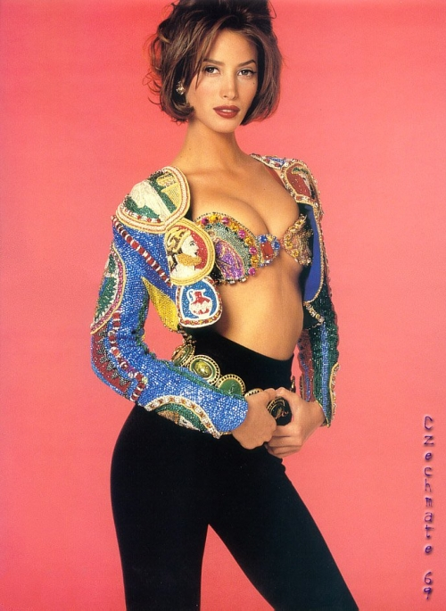 Christy Turlington-super-model-nineties