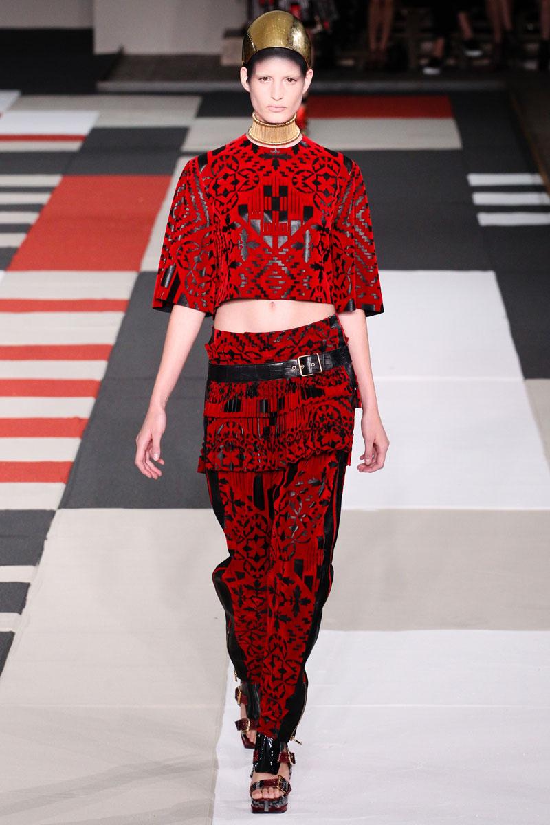 alexander mcqueen spring 2014 fashionsizzle