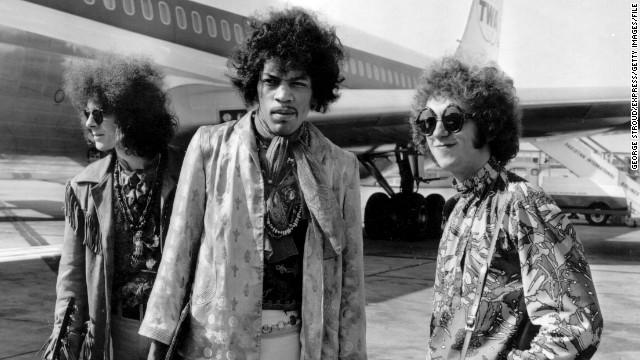 Jimi Hendrix-fashion