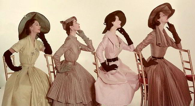 Vintage Fashions and Sketches