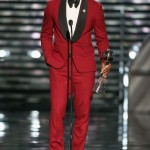 Lebron James Savannah red suit 2013 ESPY Awards red carpet fashion 3 150x150 Russell  Westbrook Fashion Style