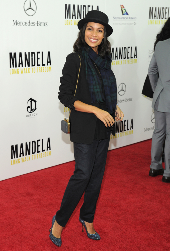 New York Premiere Of MANDELA: LONG WALK TO FREEDOM, Hosted By TWC, Yucaipa Films And Videovision Entertainment, Supported By Mercedes-Benz, South African Airways And DeLeon Tequila - Arrivals