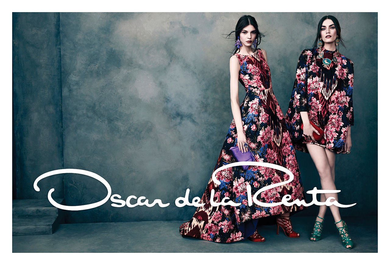 oscar de la renta ad campaigns fashionsizzle. Black Bedroom Furniture Sets. Home Design Ideas