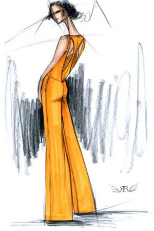 Sketches Illustrations Fashionsizzle