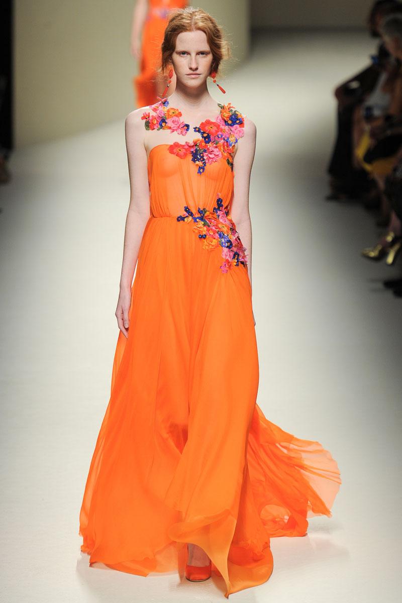 2014 Spring Summer Teen Fashion Trends: Alberta Ferretti Spring 2014 Rtw
