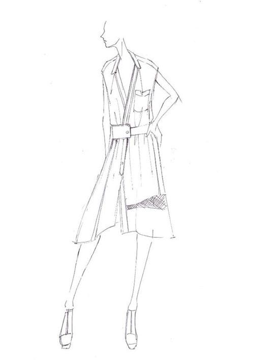 Herve- Leger-sketch-spring 2014