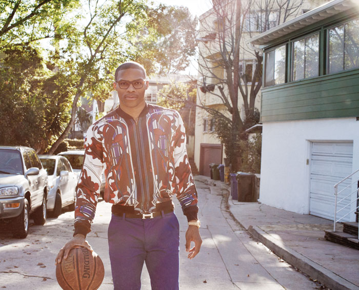 0 Russell Westbrook for Paper Magazine  Russell  Westbrook Fashion Style