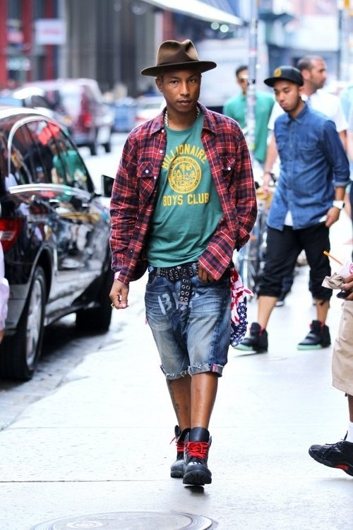 pharrell williams fashion style fashionsizzle