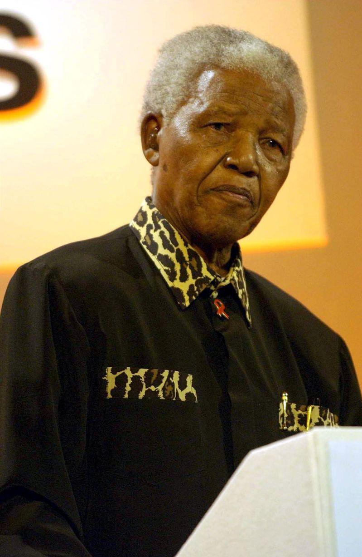10 July 2003- Nelson Mandela-1486225