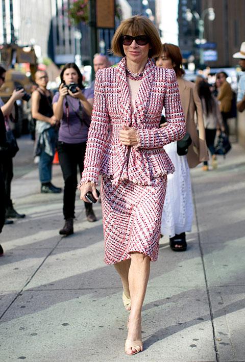 Anna Wintour Fashion Style Fashionsizzle