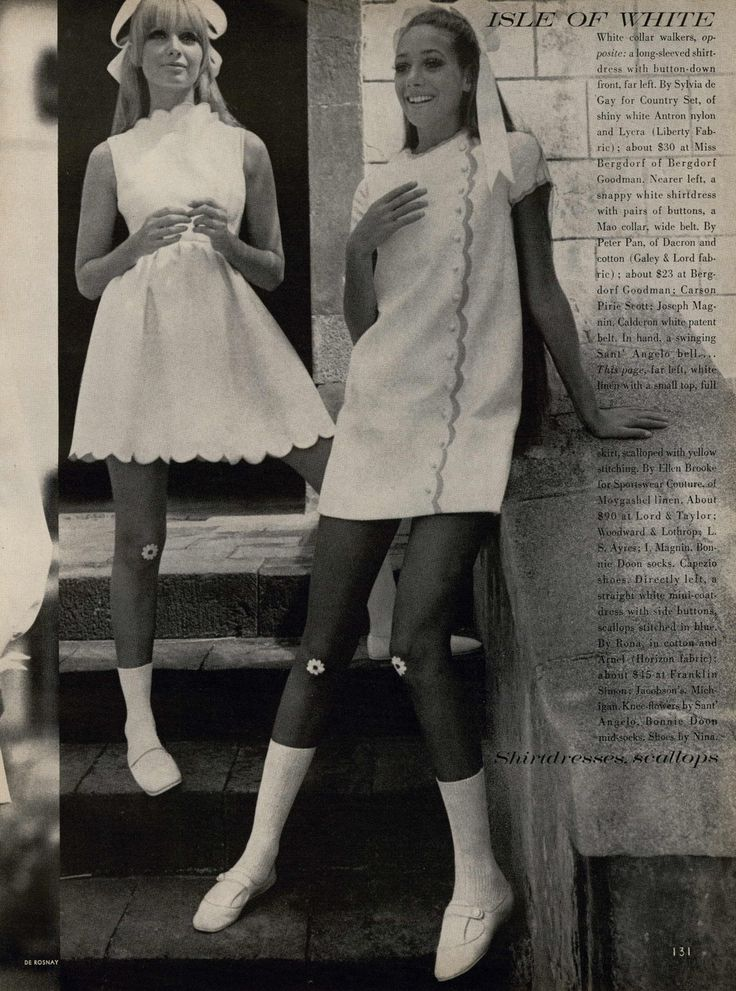 US Vogue January 1968 | Isle of White