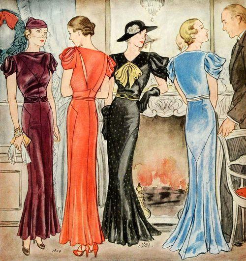 thirties fashion fashionsizzle