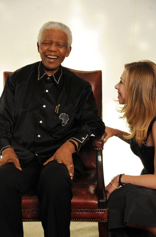 Oct 2001- Nelson Mandela-1486226