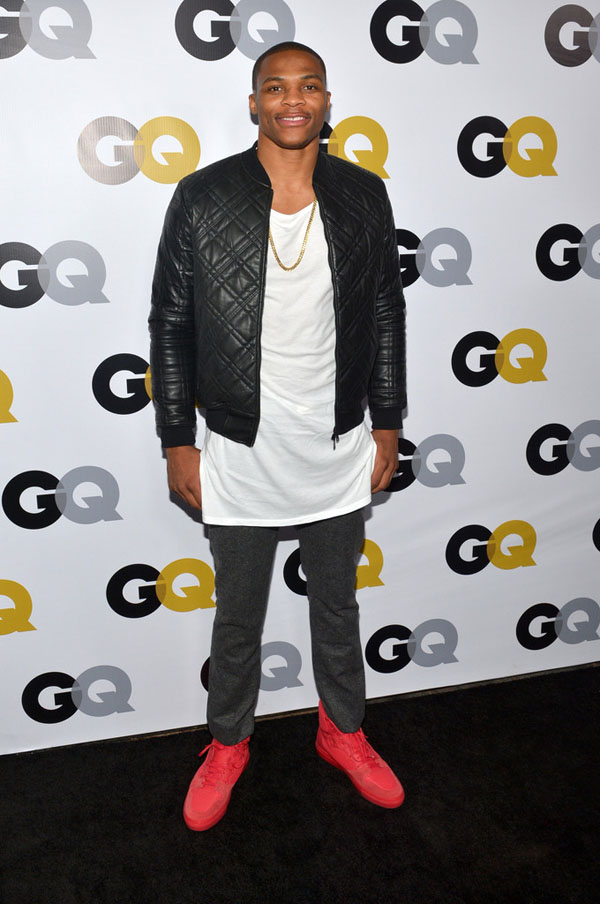 Russell Westbrook 2013 GQ Men of the Year Awards 1 Russell  Westbrook Fashion Style