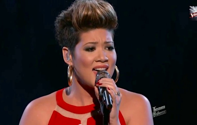 Tessanne Chin The Voice finals Tessanne Chin Hair