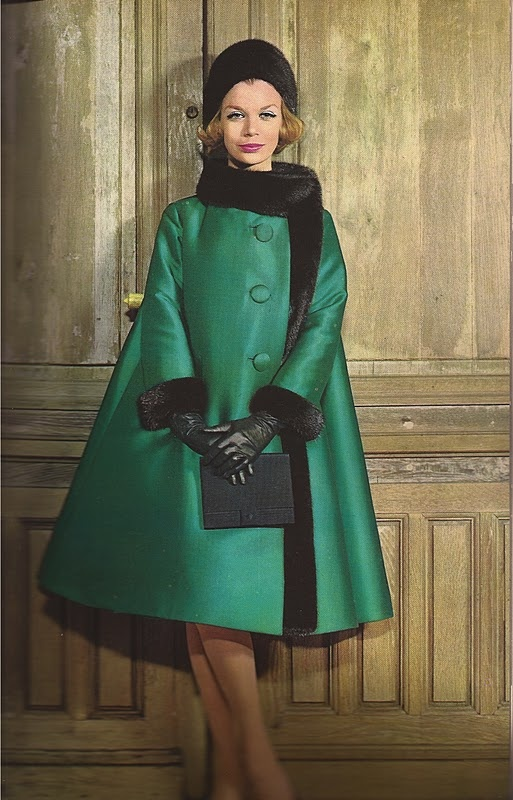 1962 Christian Dior, 1960's fashion