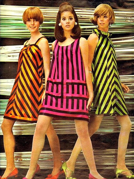 1960s – A Decade of Colour | Byron's muse |From The 60s Clothing Styles