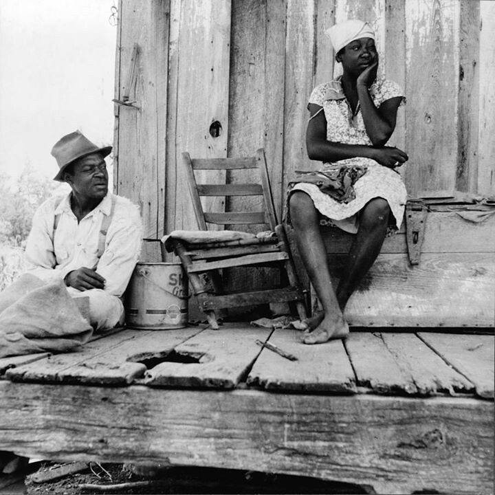 Share croppers in Mississippi 1937
