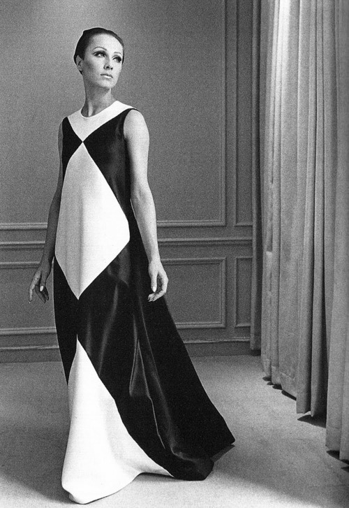 Dress by Halston, 1960s.