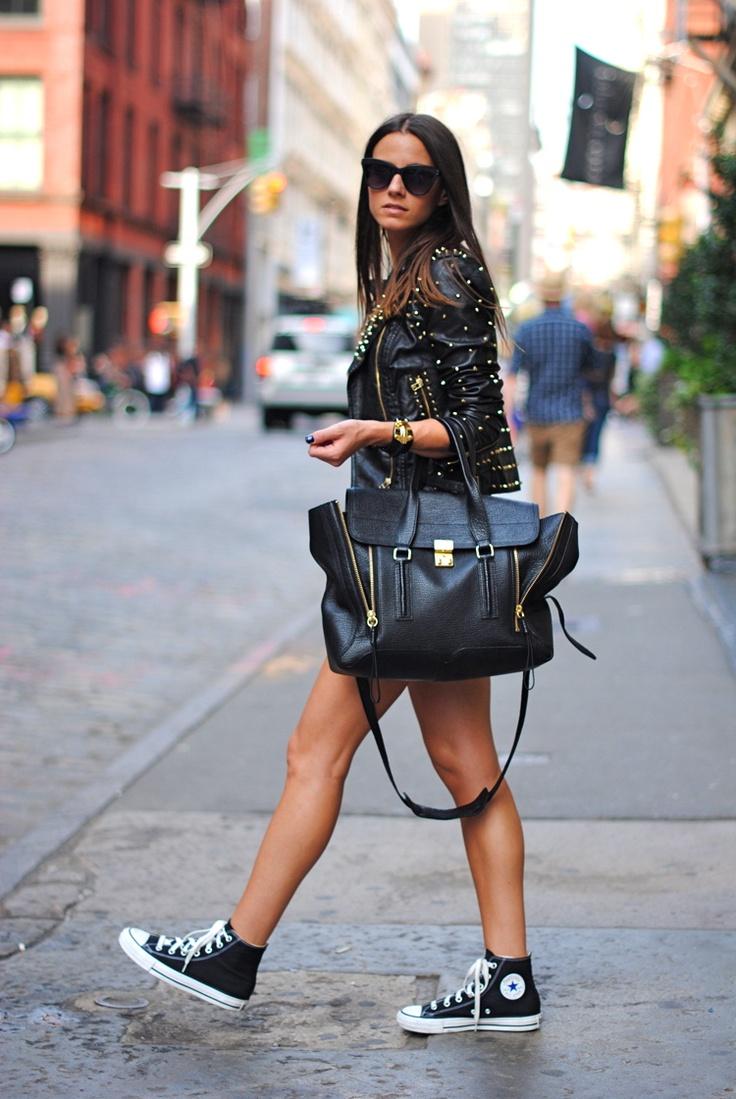 Streetstyle Leather Women Fashionsizzle
