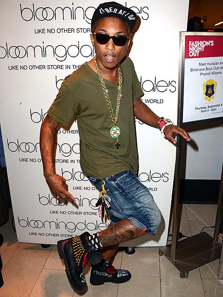 Pharrell Williams fashion style - FASHION SIZZLE