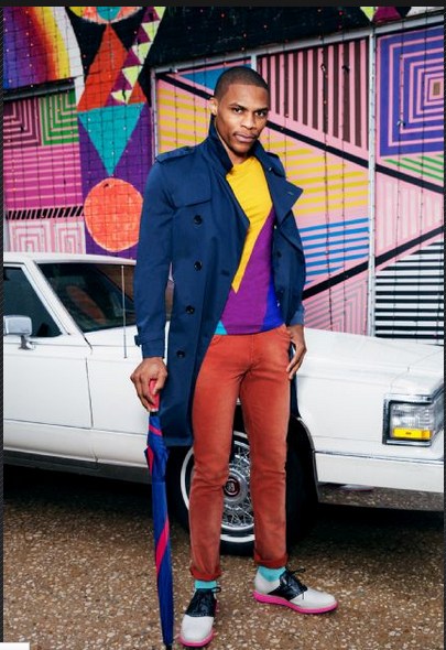 russell westbrook for espn photo issue 2 april 2013 Russell  Westbrook Fashion Style