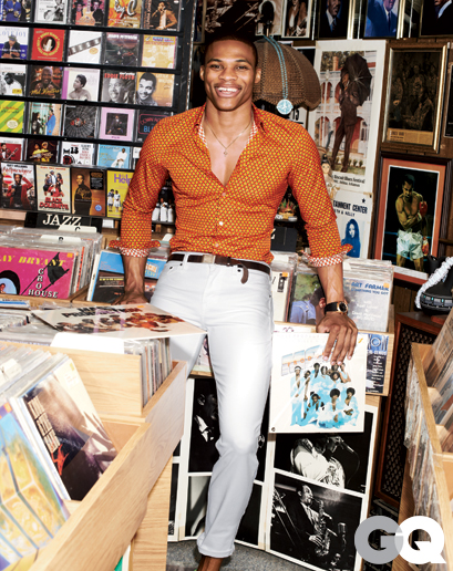 russell westbrook gq 4 Russell  Westbrook Fashion Style