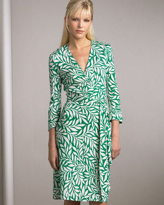 -dvf-green-white-wrap-dress-collection