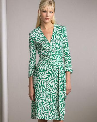 -dvf-green-white-wrap-dress-collection