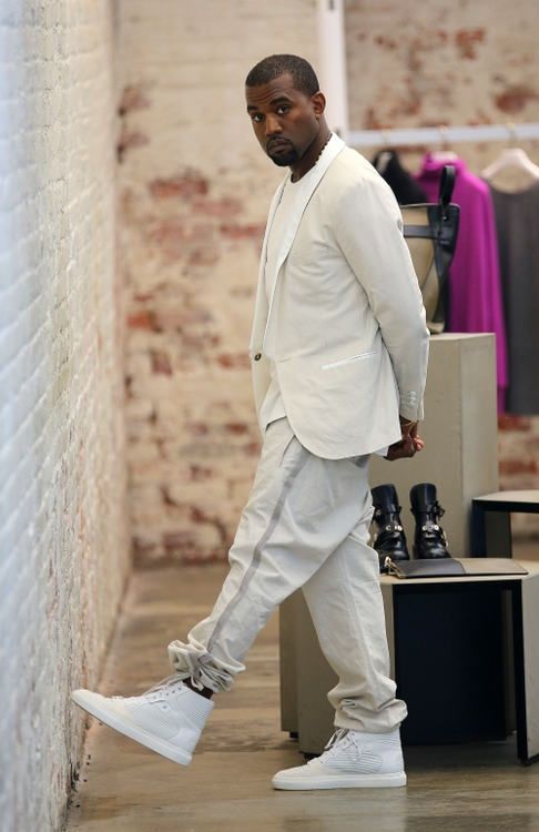 Kanye West Fashion Style Fashion Sizzle
